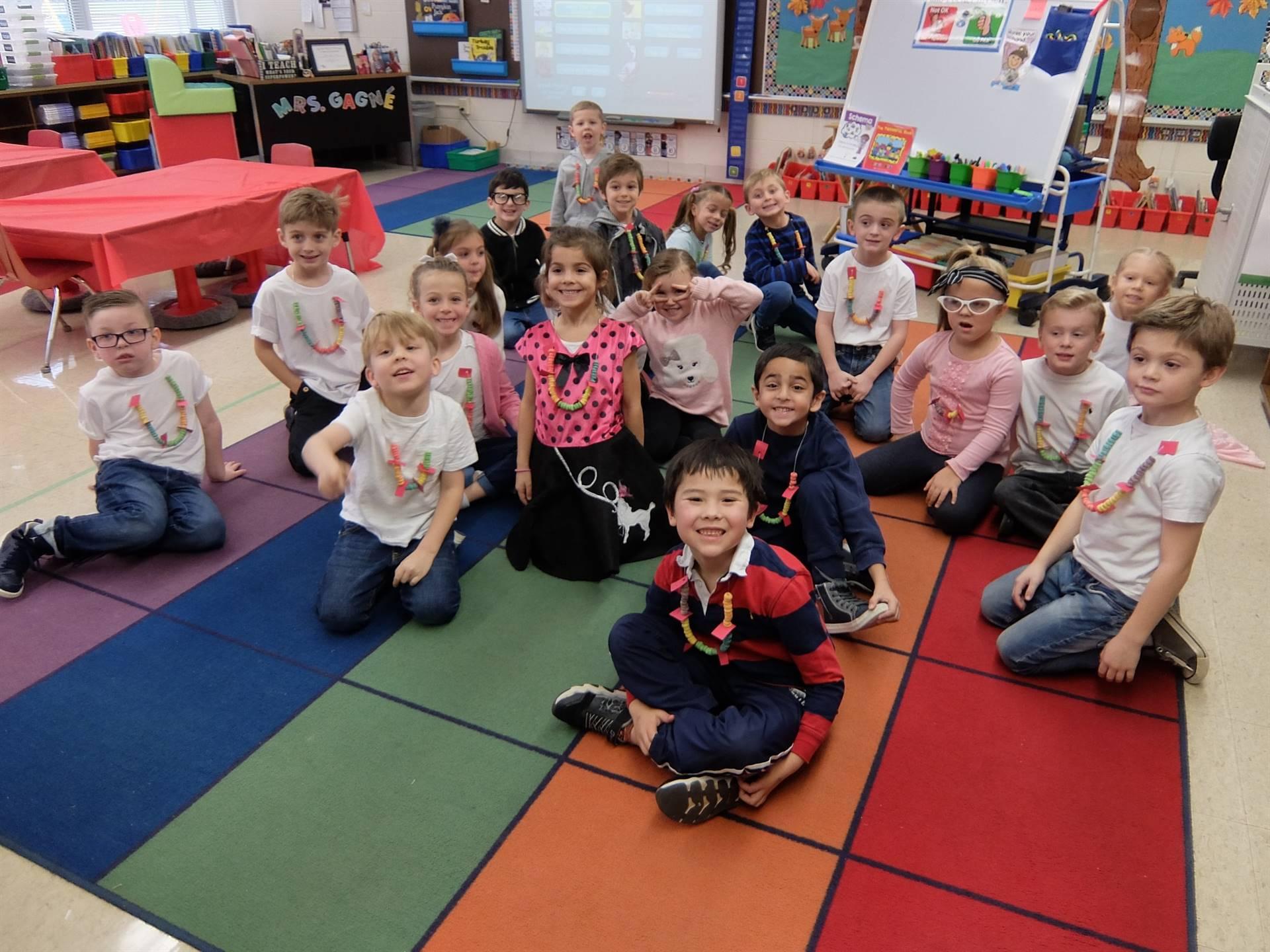 Kindergarten 50's Day 13
