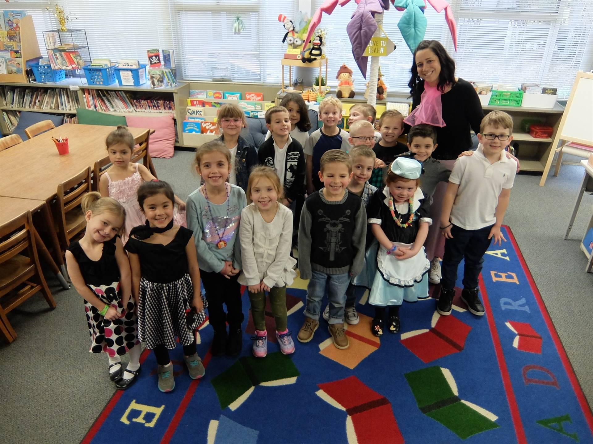 Kindergarten 50's Day 15