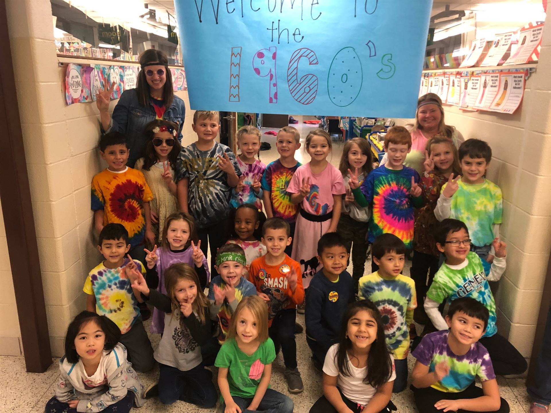 1st graders - 60's Day 4