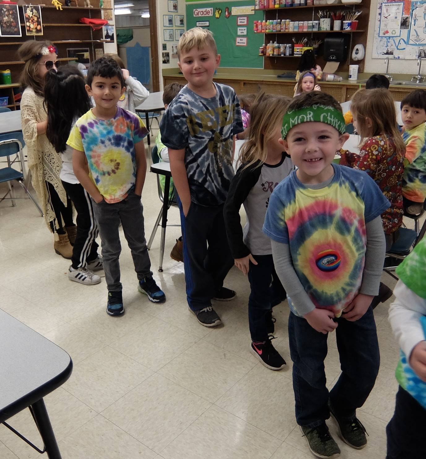 1st graders - 60's Day 8