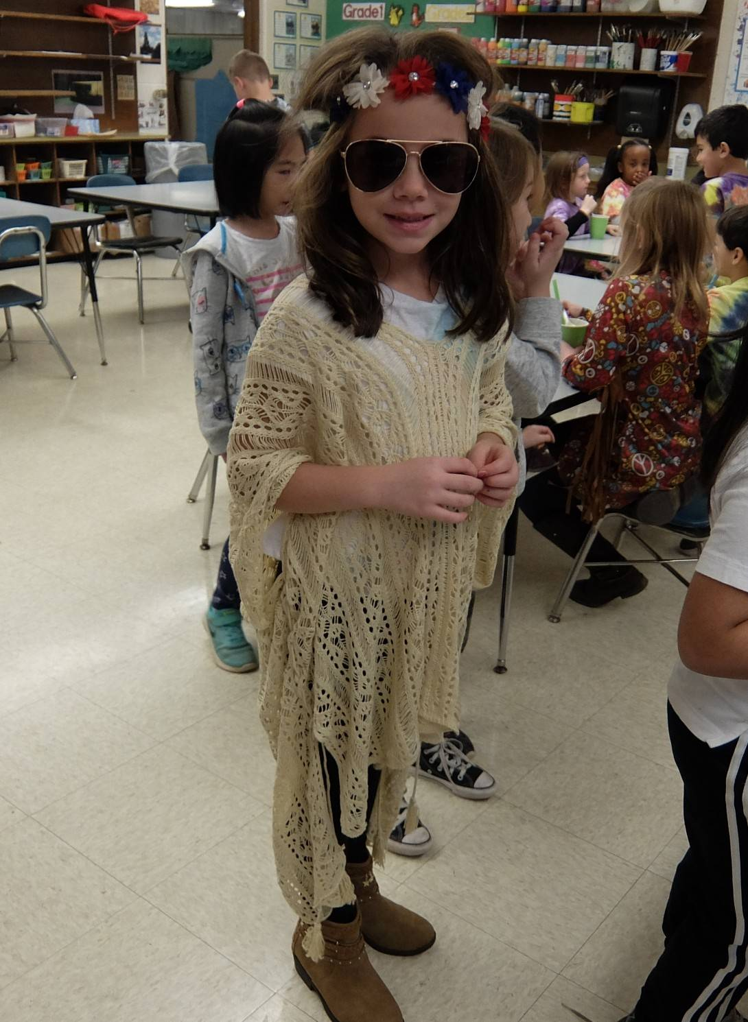 1st graders - 60's Day 9