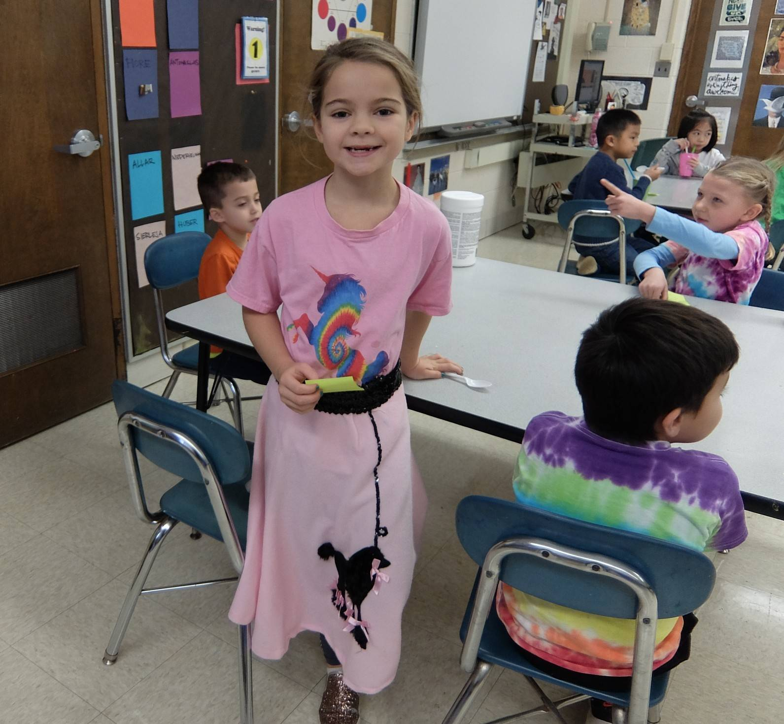 1st graders - 60's Day 13