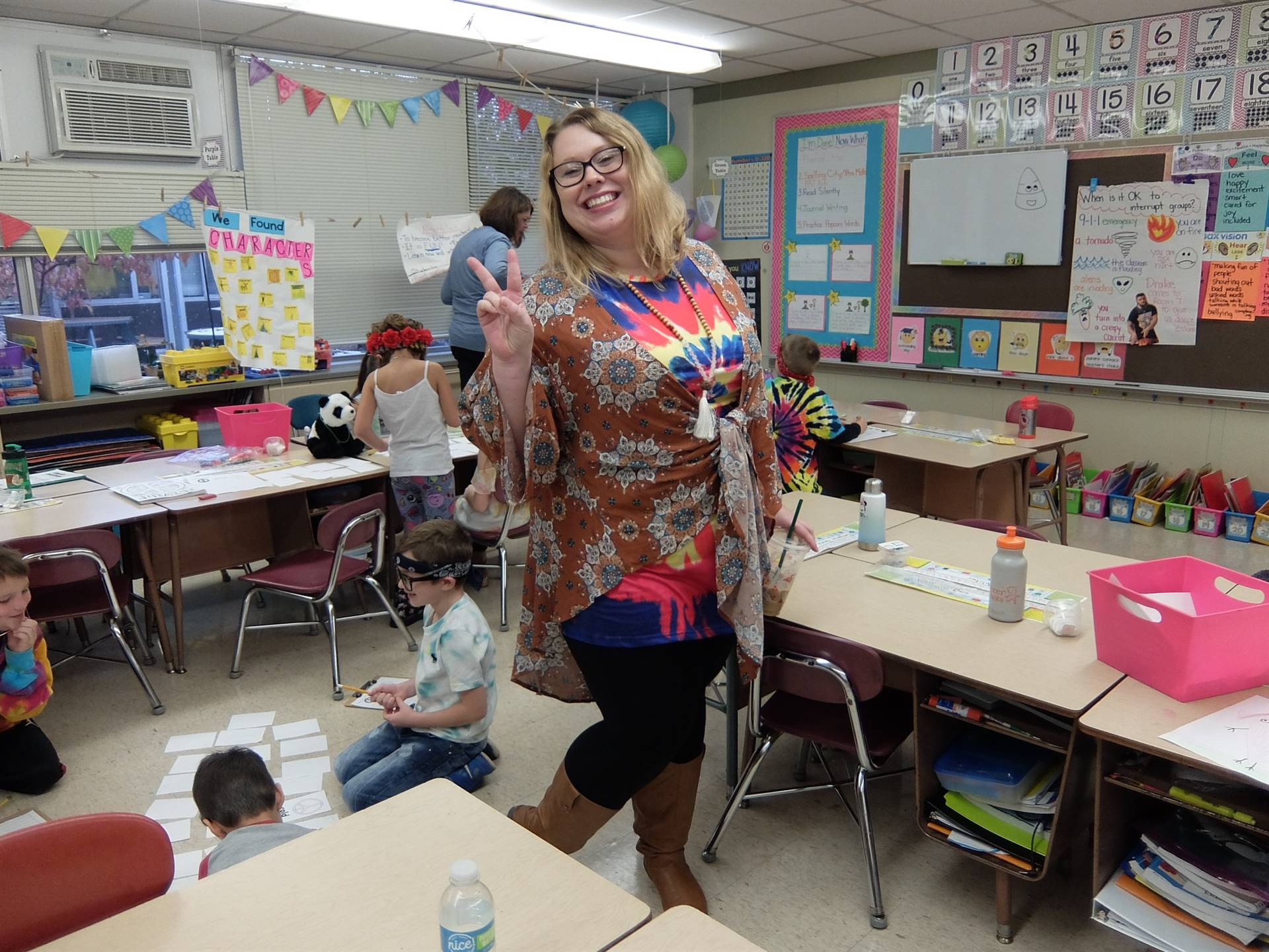 1st graders - 60's Day 27