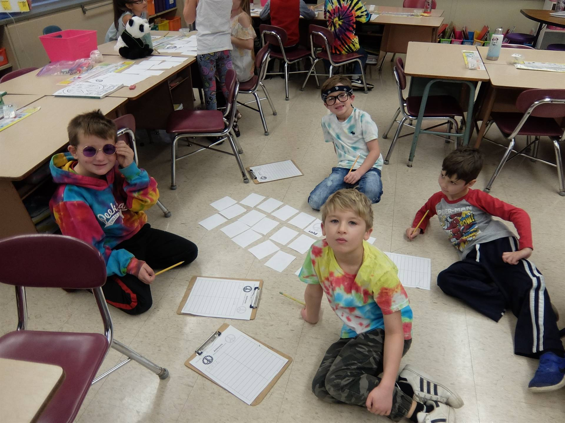 1st graders - 60's Day 28