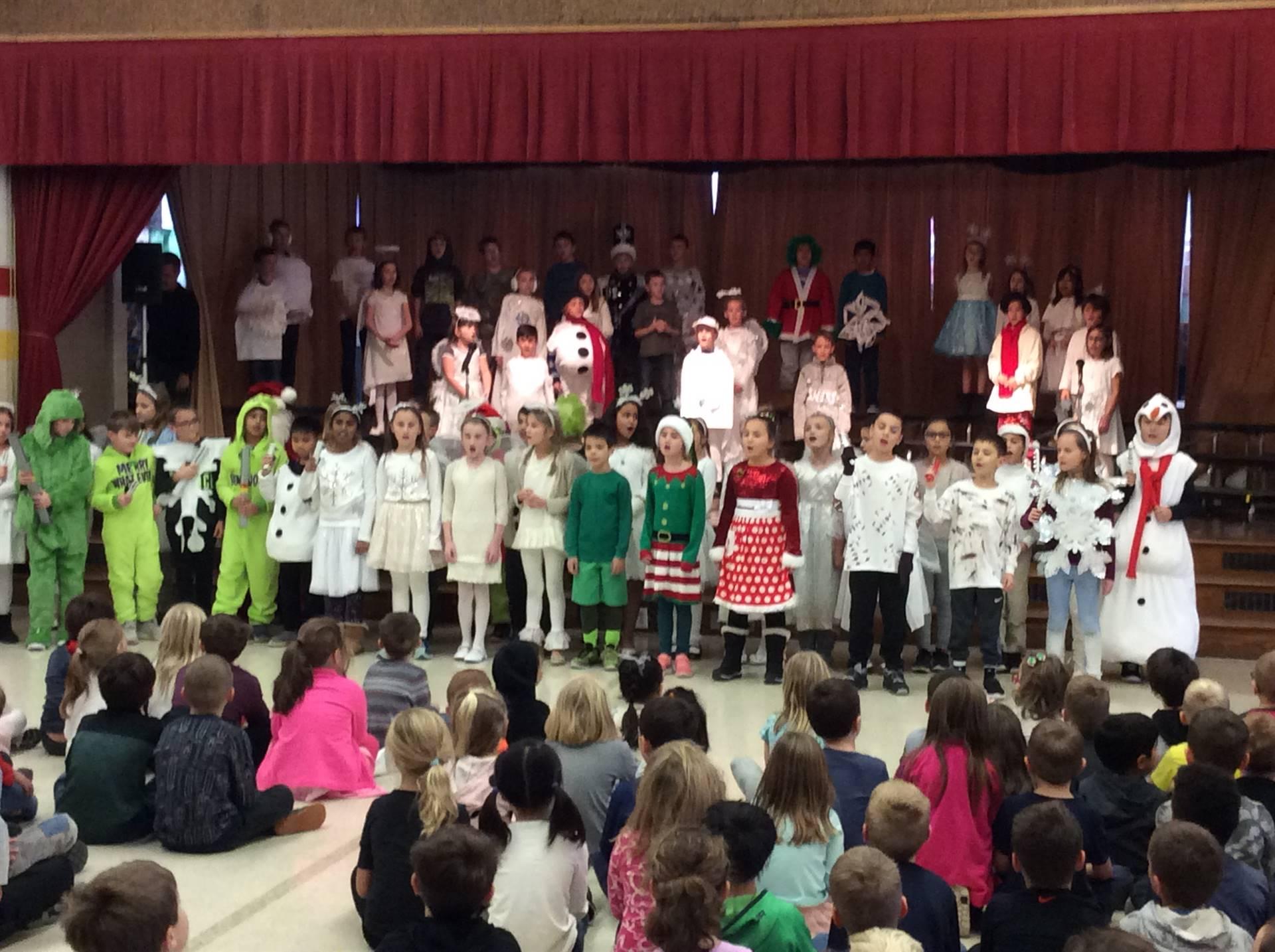 Third Grade Musical - Flakes