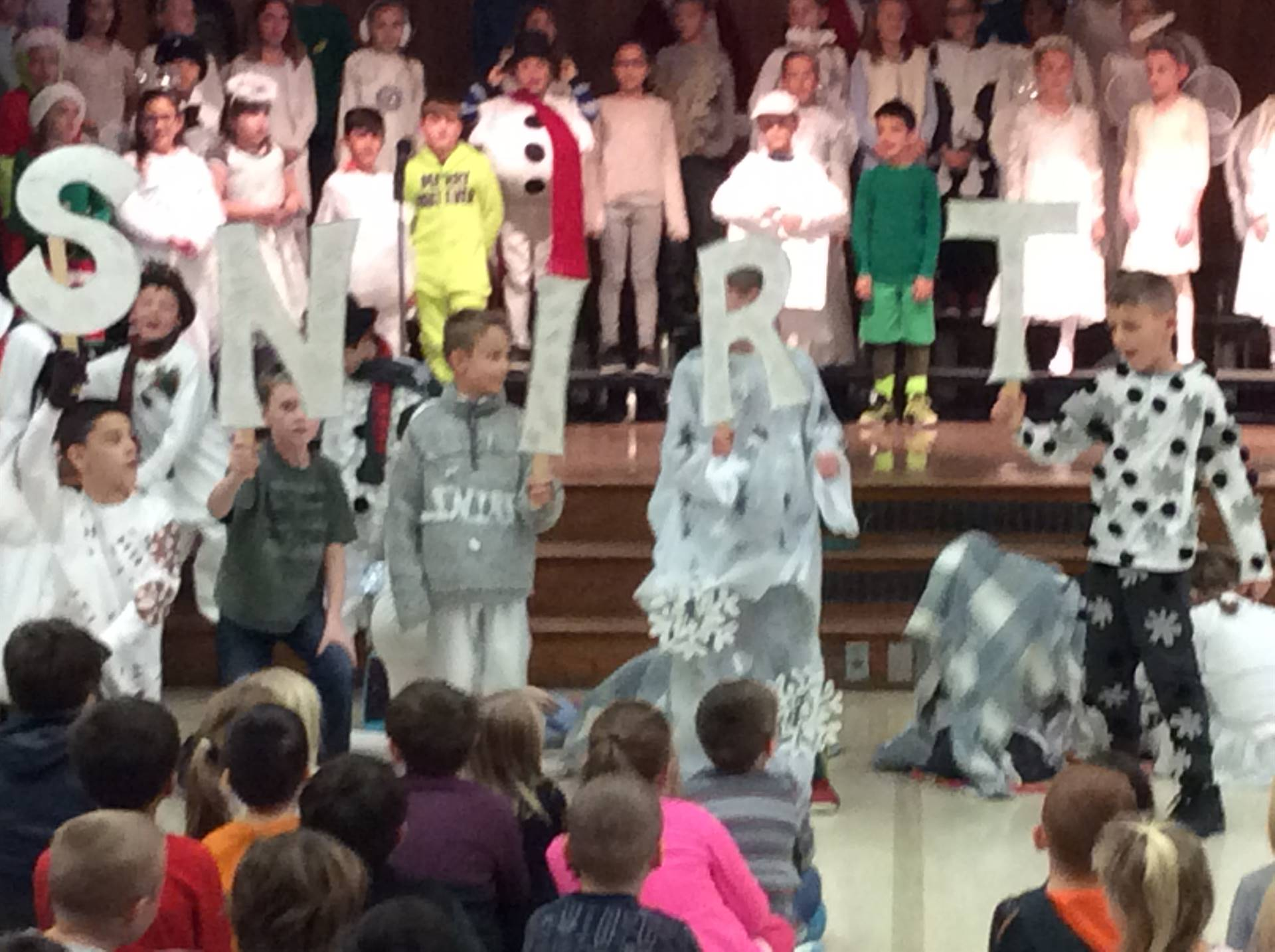 Third Grade Musical - Flakes