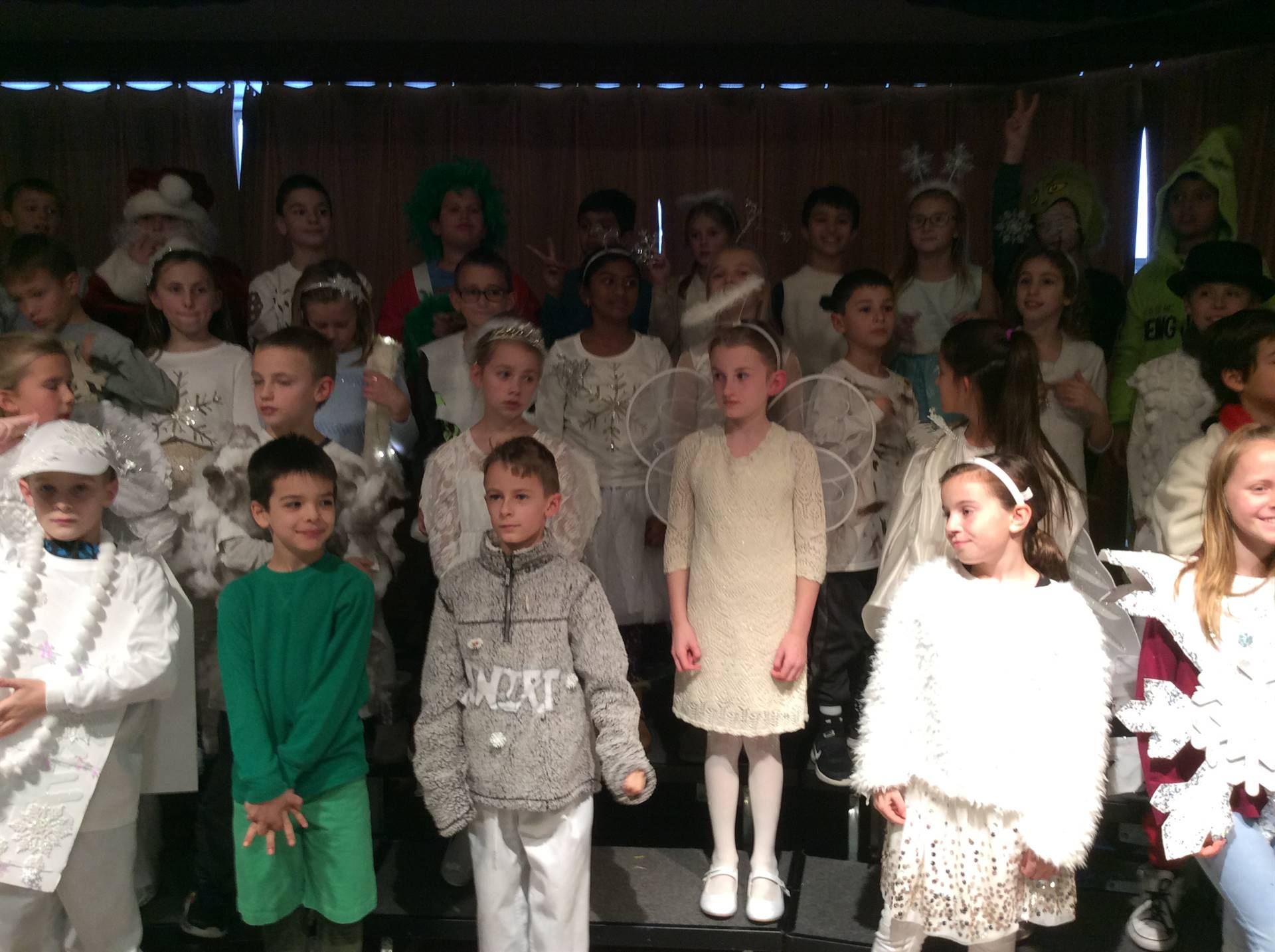 Third Grade Musical - Flakes; Post Performance