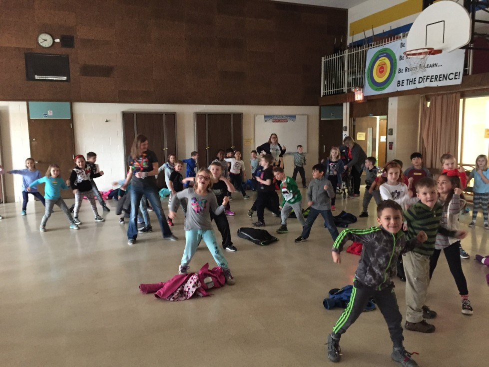 Jingle Bell Jog dancing 1