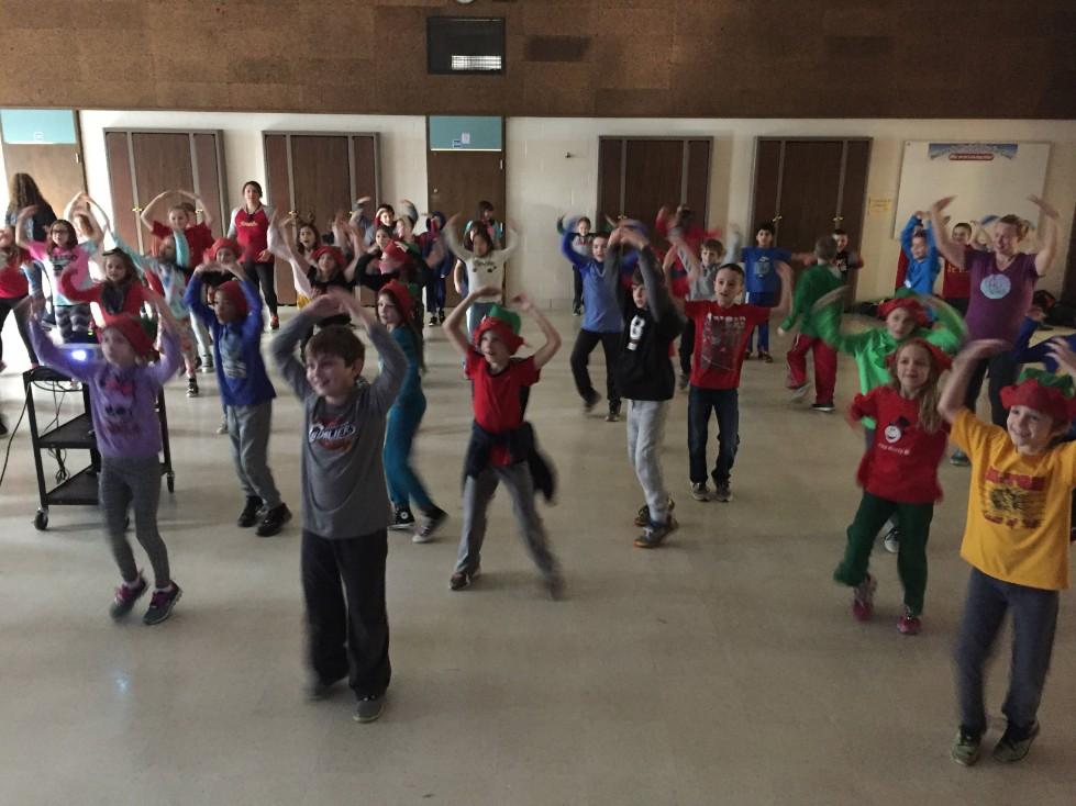 Jingle Bell Jog dancing 3