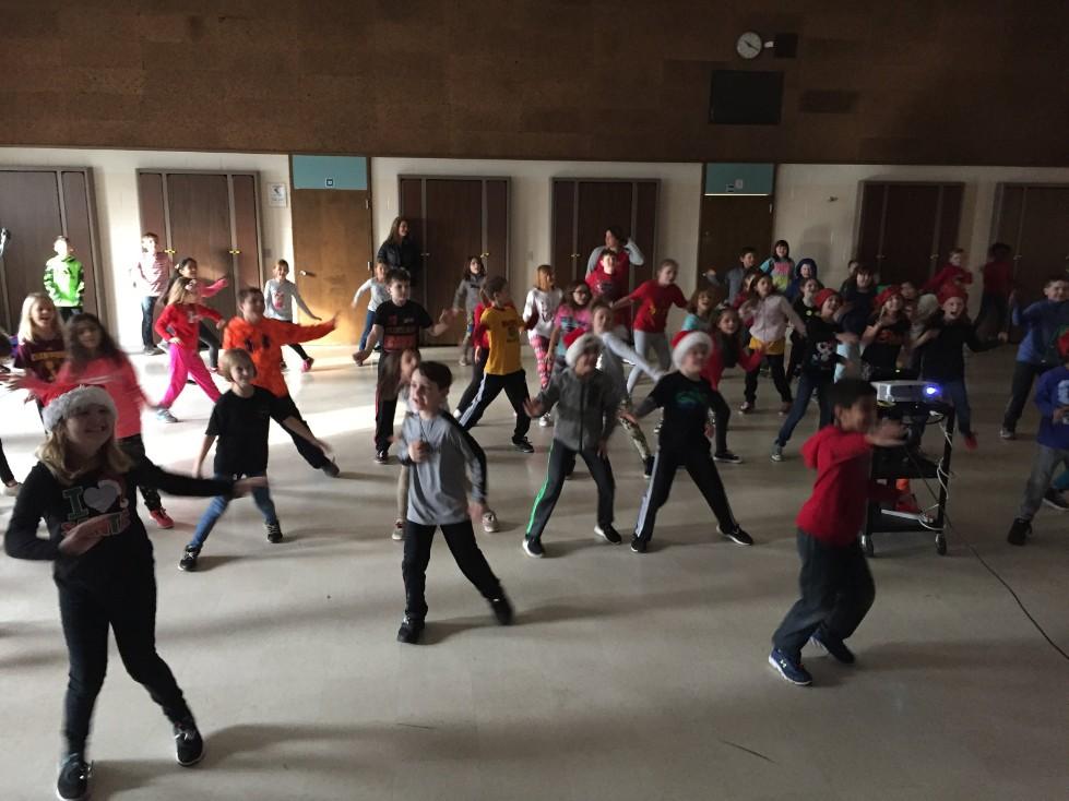Jingle Bell Jog dancing 4
