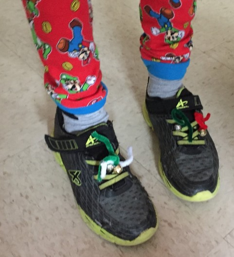Jingle Bell Jog shoes with bells