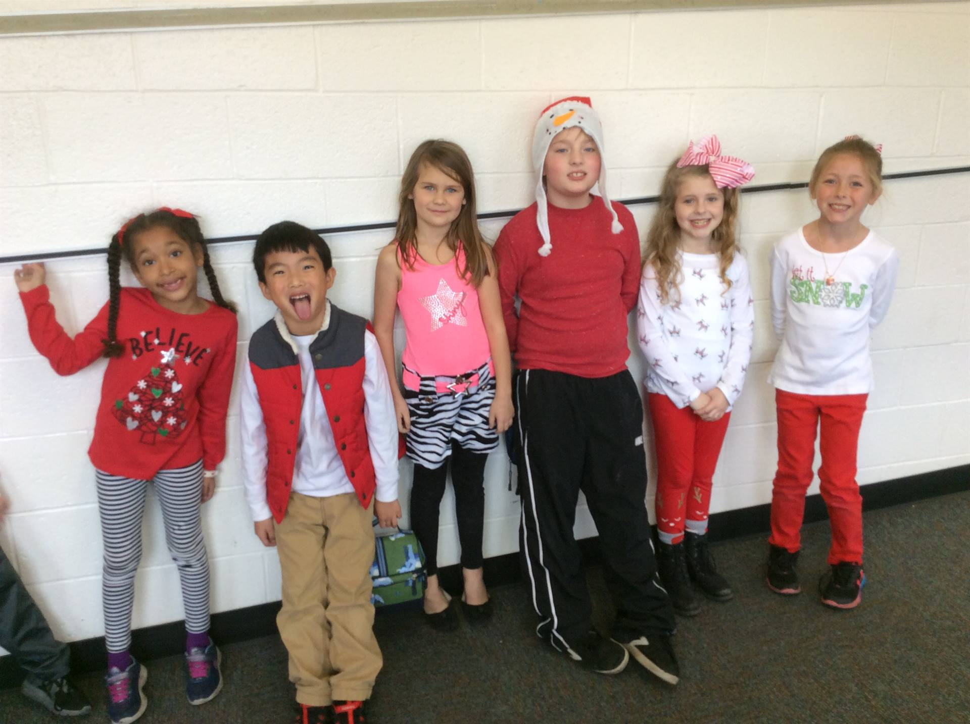 Candy Cane Day- Red and White
