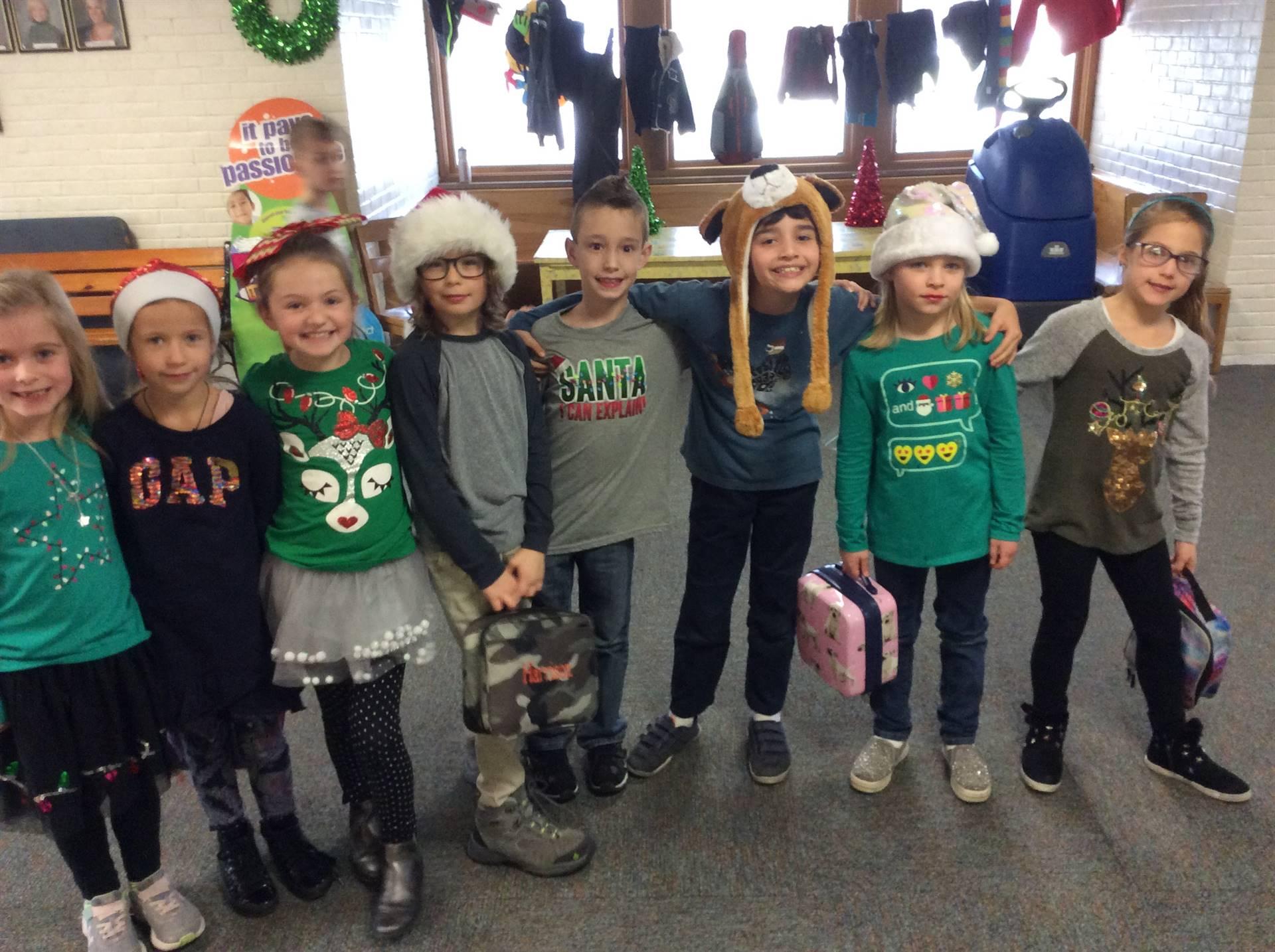 Holiday Hats, Socks, Shirts...