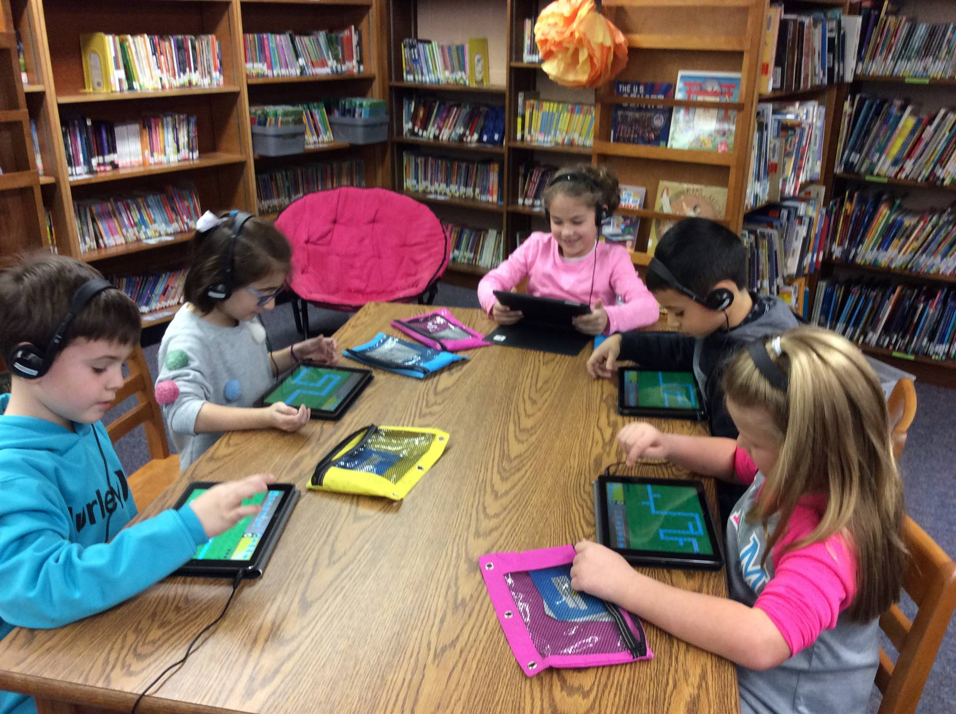 First Grade Hour of Code