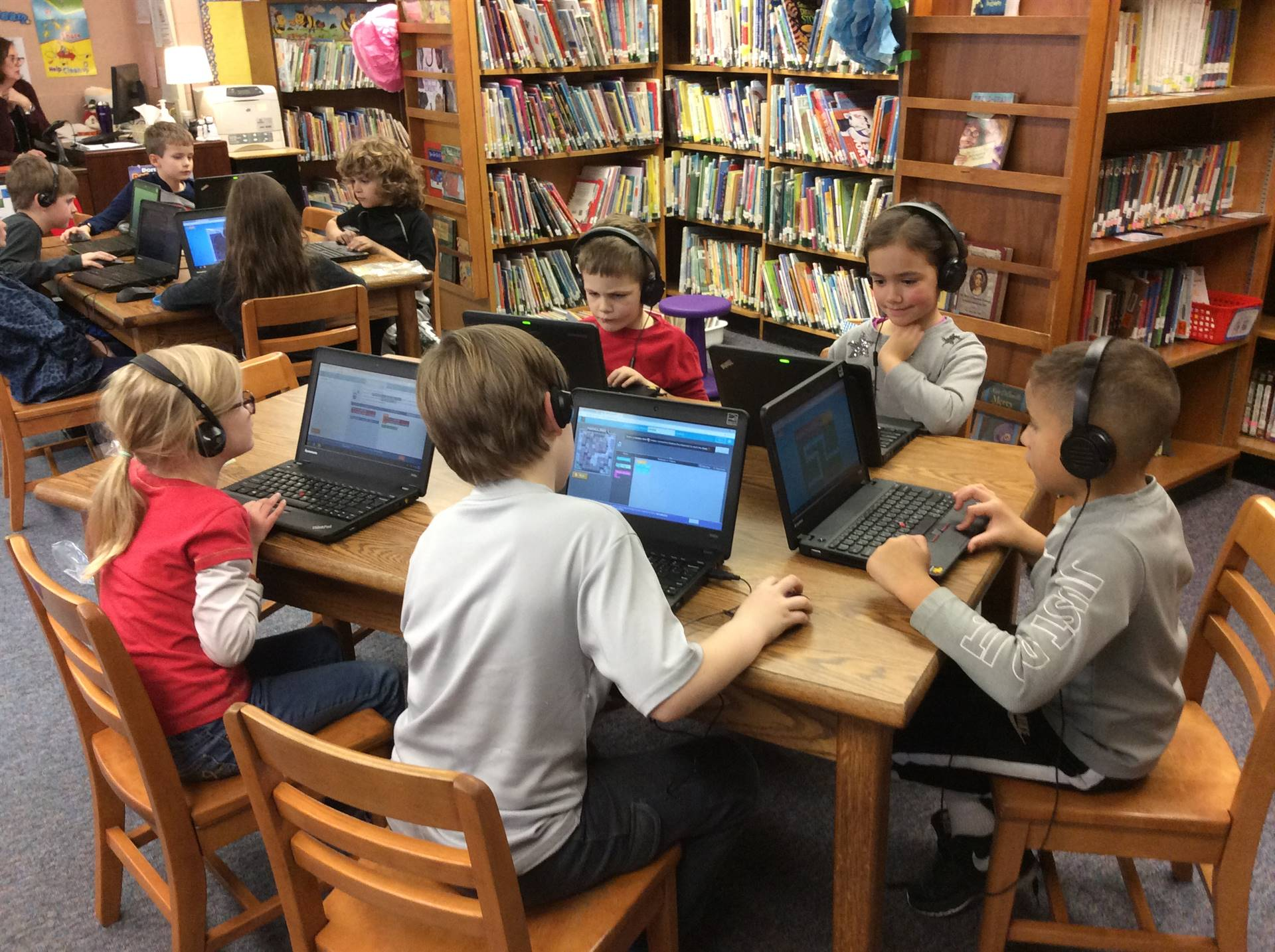 Second Grade Hour of Code