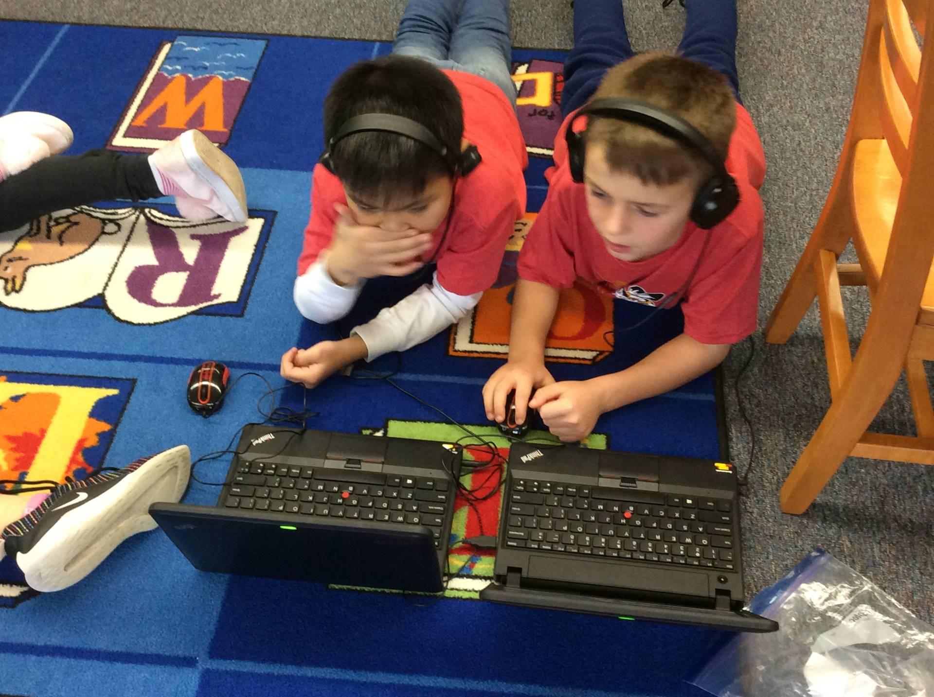 Third Grade Hour of Code
