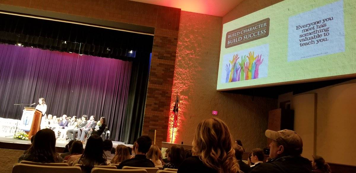 Olivia Armstrong NHS Speech on Character