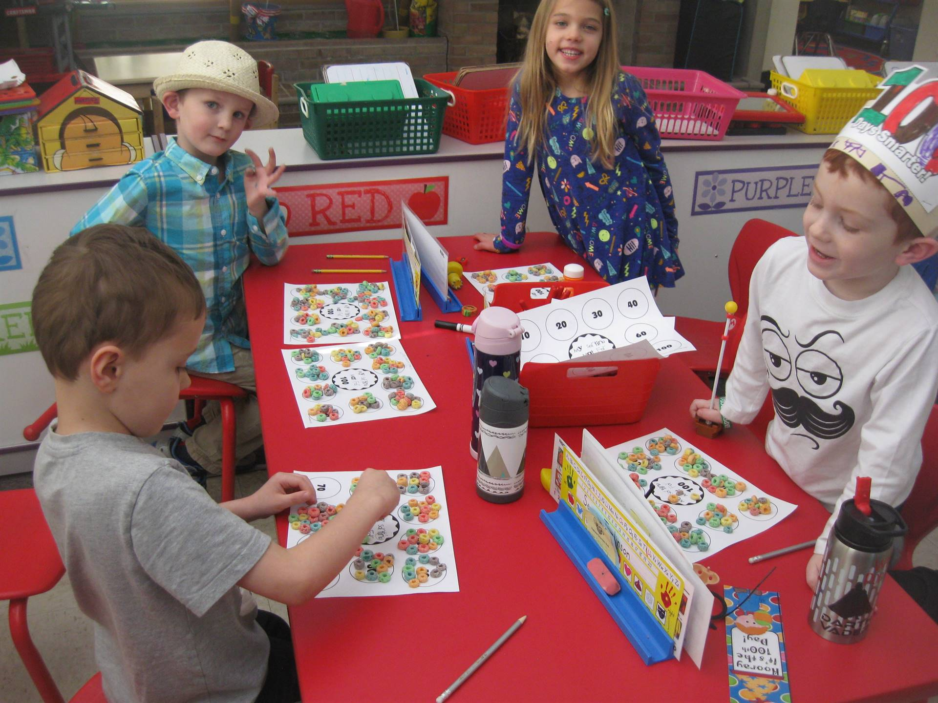 Kindergarten 100th Day Activities and Dress Up
