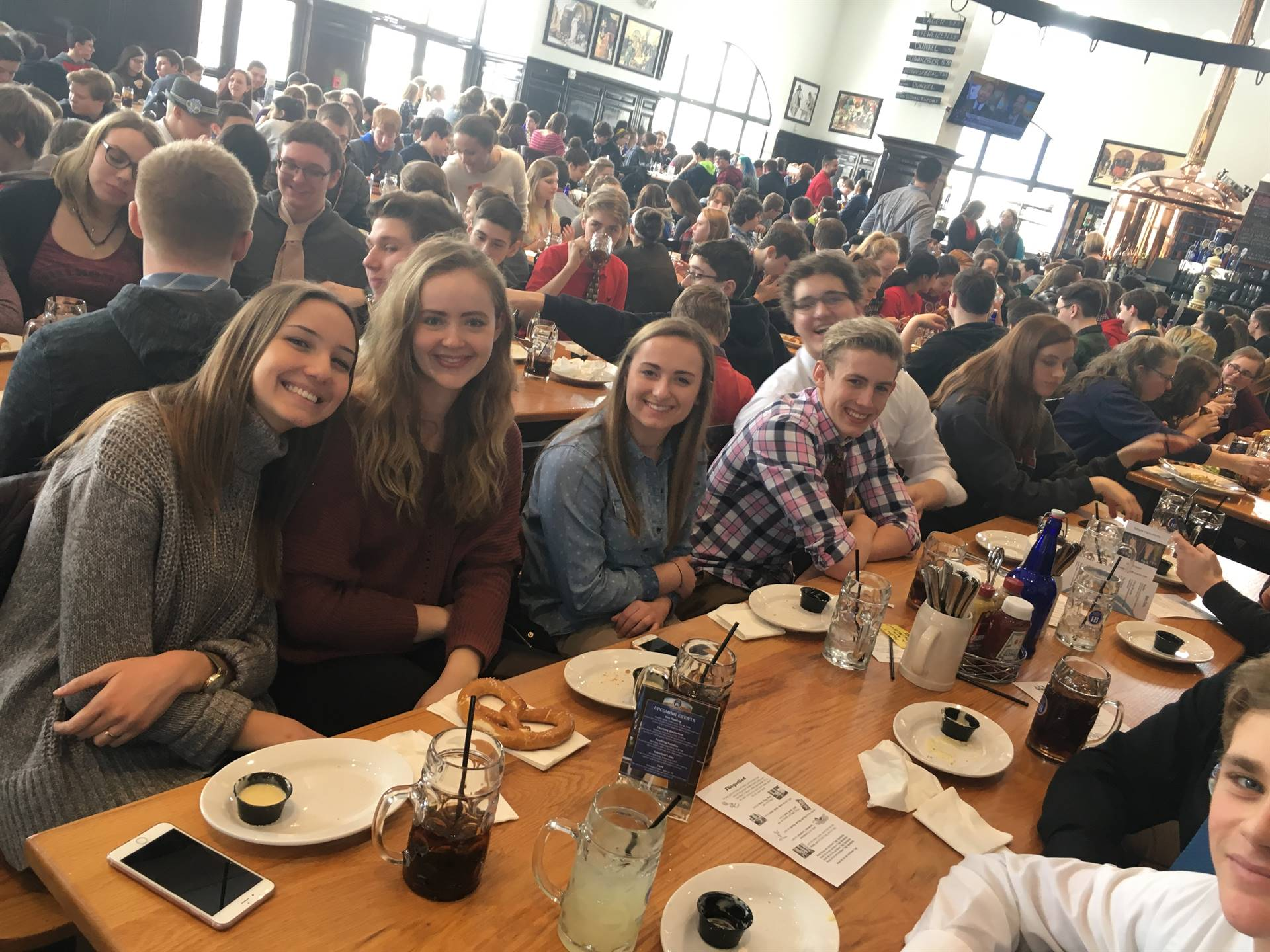 German Club members enjoyed the festivities at Hofbrauhaus