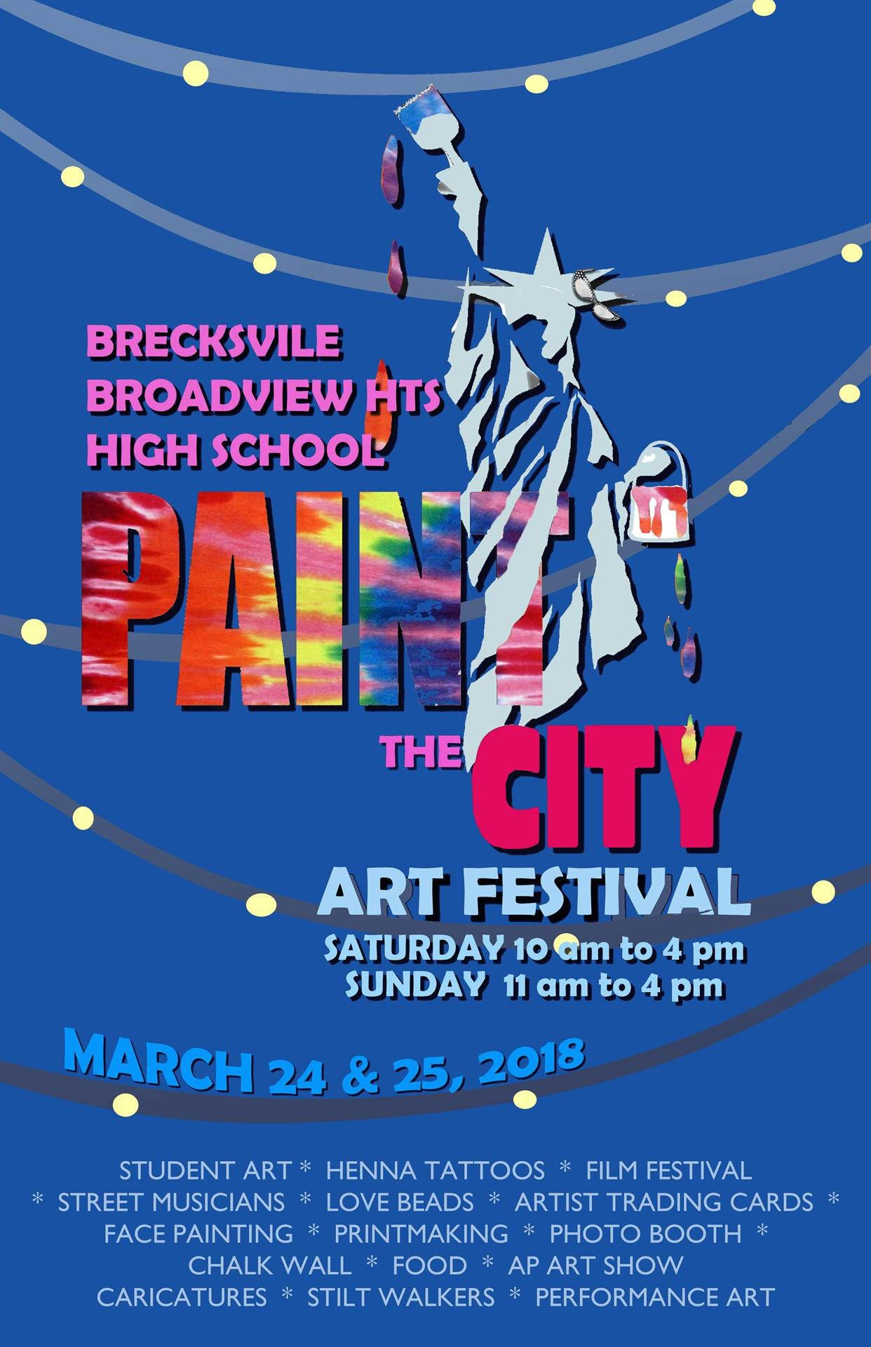 Art Fest Paint the City is on March 24 and 25th