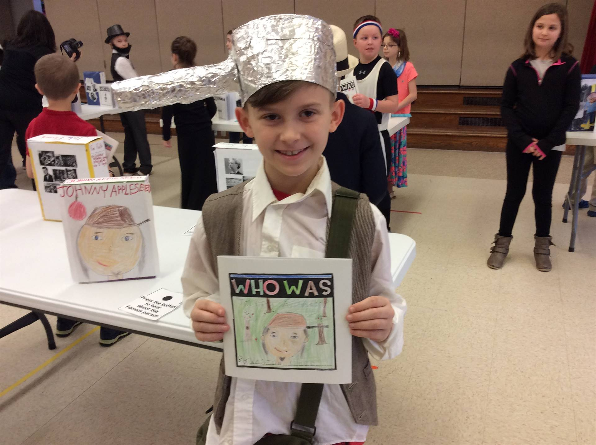 Third Grade Wax Museum