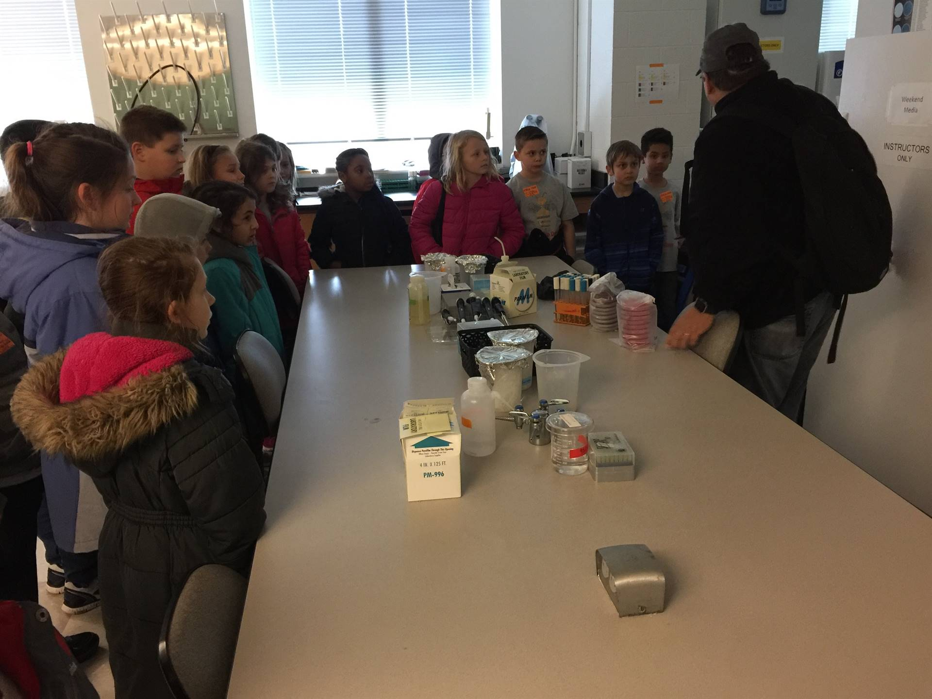 3rd Grade Thinkbox Field Trip Case Western Reserve University