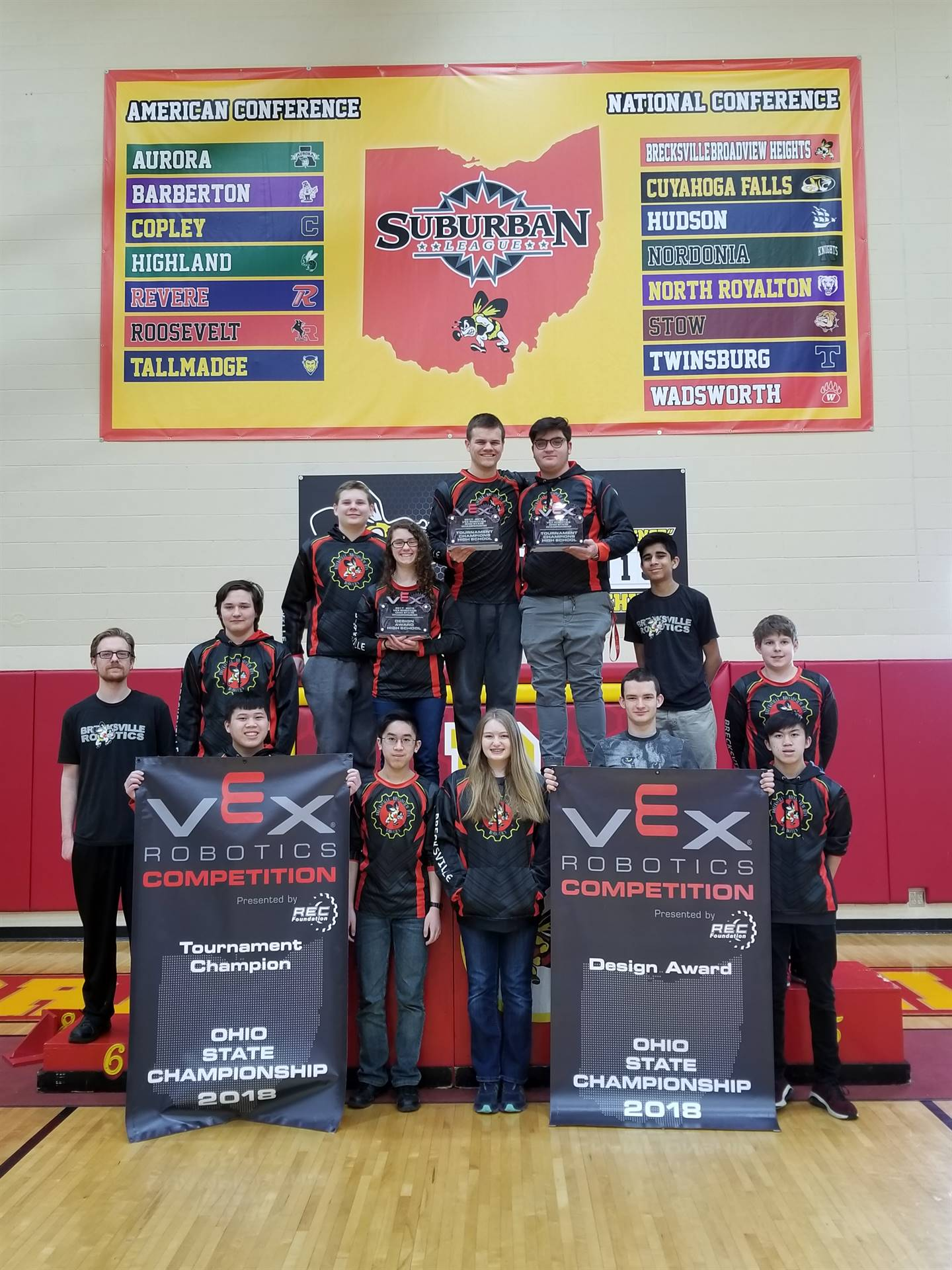 Robotics Teams State Champs
