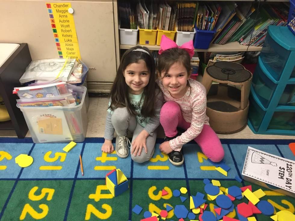 1st Grade STEM Day 8