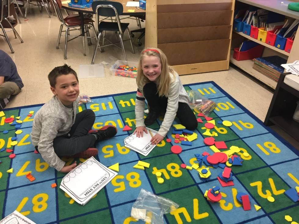 1st Grade STEM Day 6
