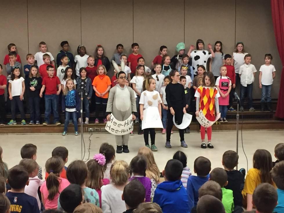 2nd Grade Musical - animals