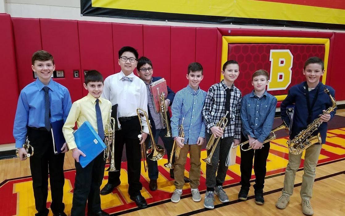 5th Grade Band Members