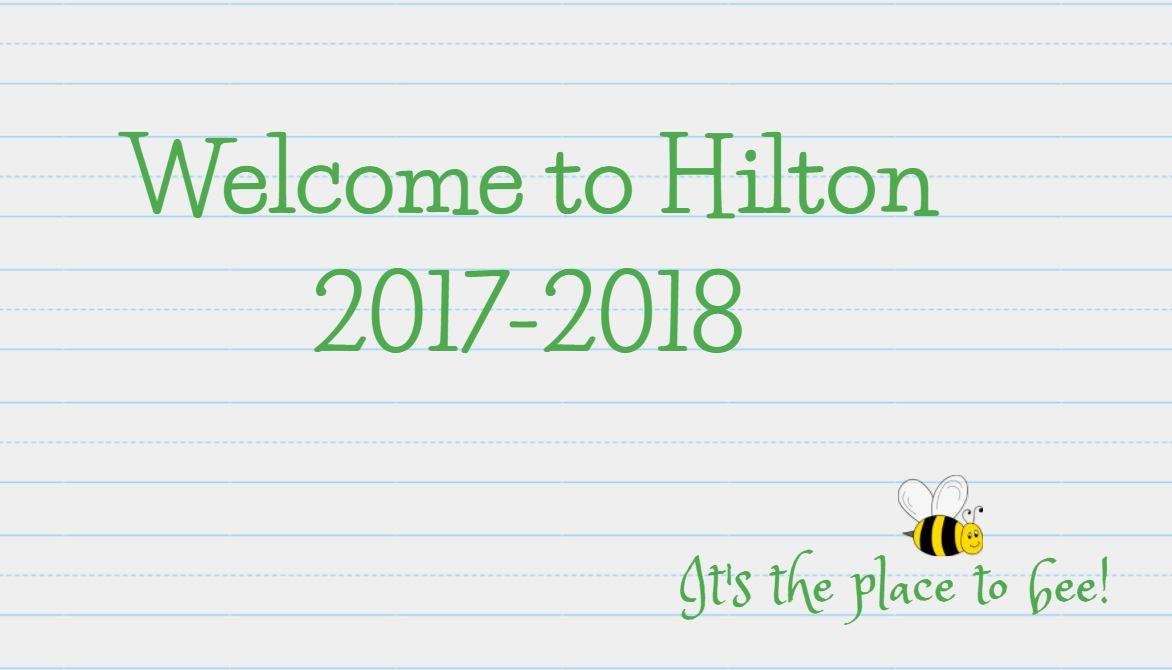 Welcome to Hilton...It's the place to bee!