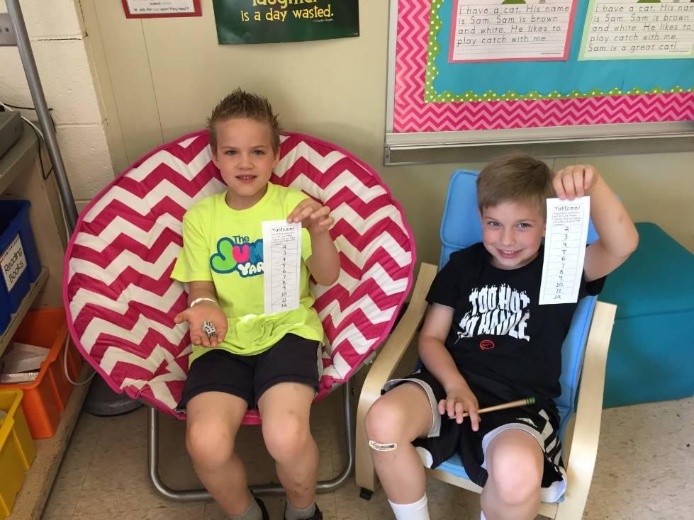First Grade Math Olympics 4