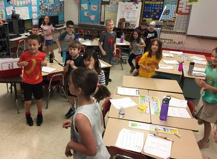 First Grade Math Olympics 7