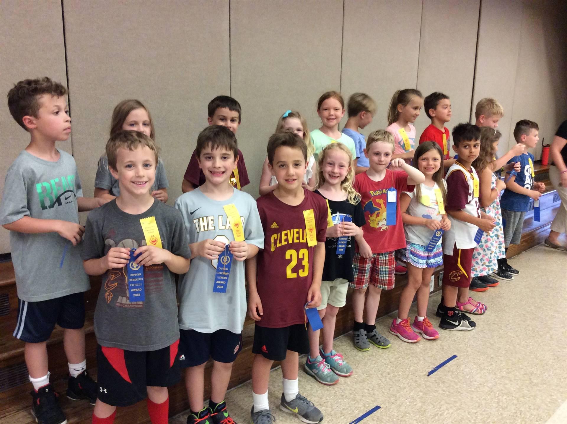 First Grade Blue Ribbon Recipients