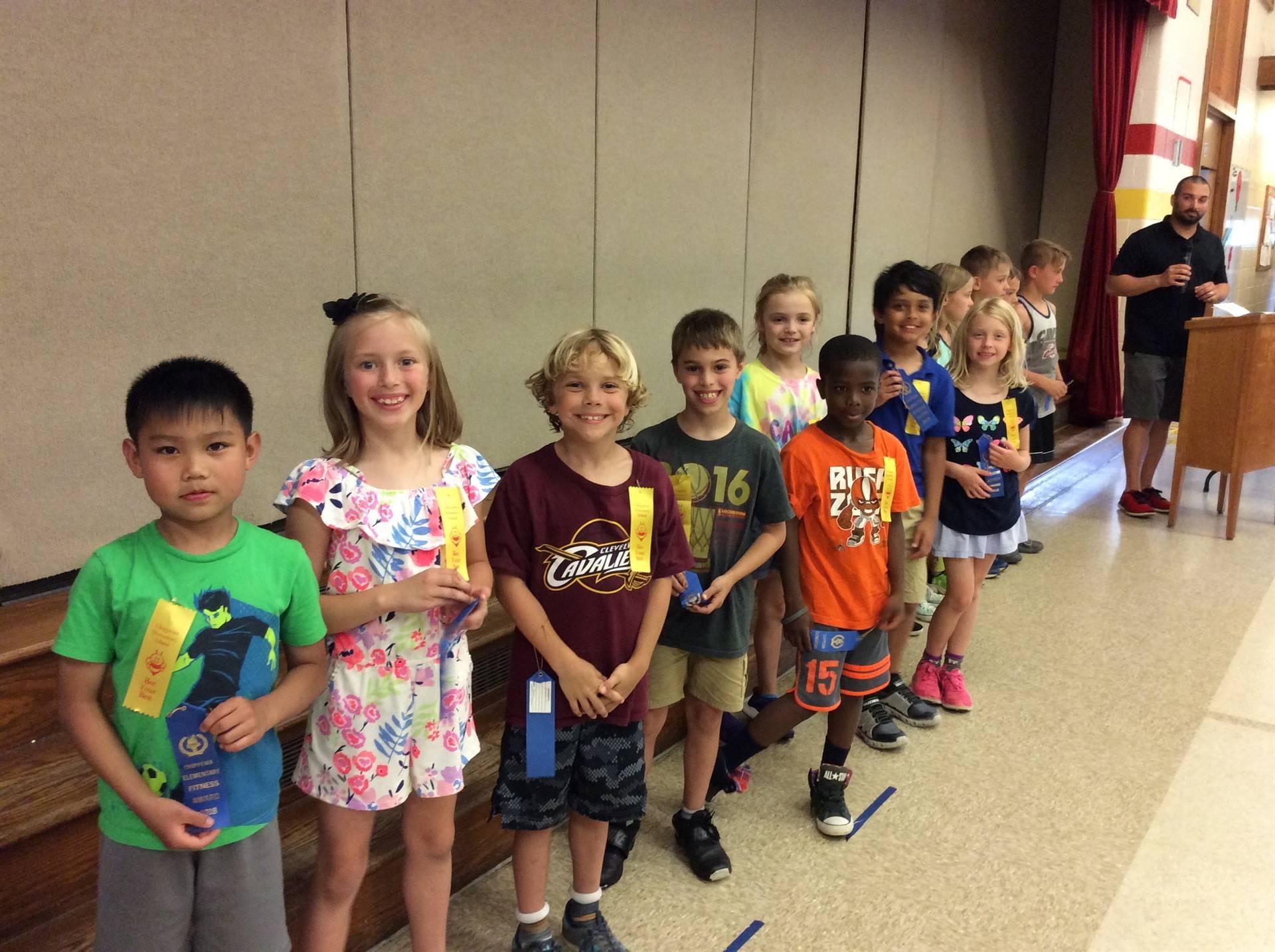 Second Grade Blue Ribbon Recipients