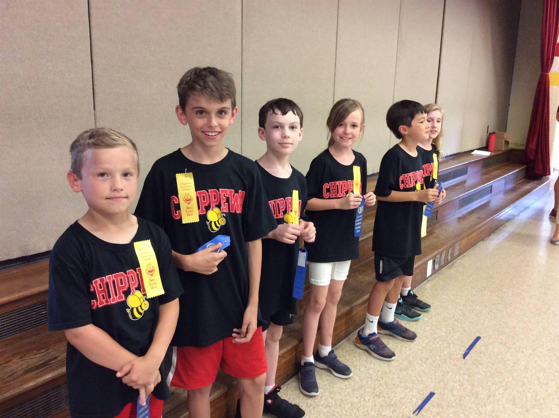 Third Grade Three Year Blue Ribbon Recipients