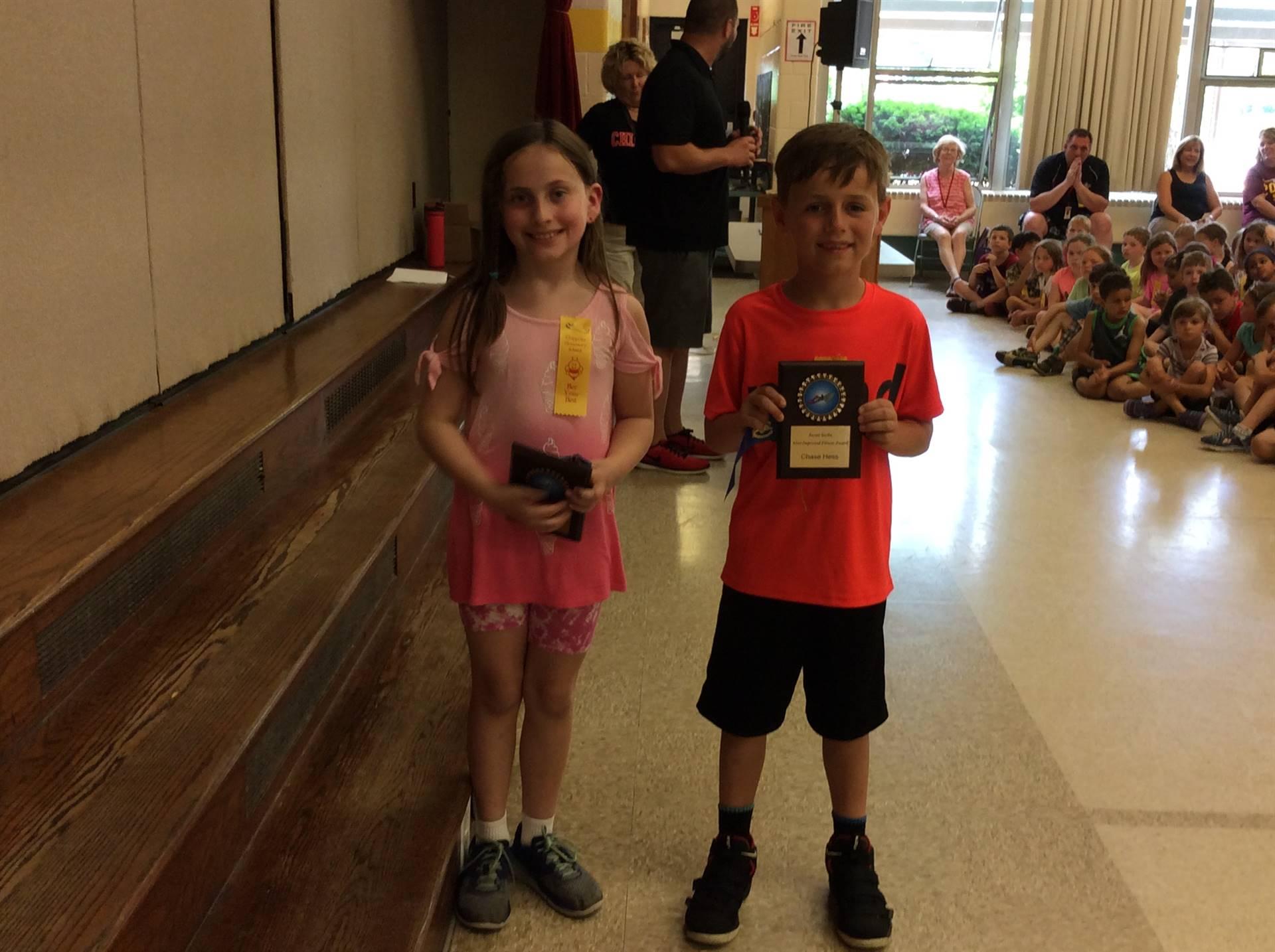 Susan Sarka Most Improved Second Graders