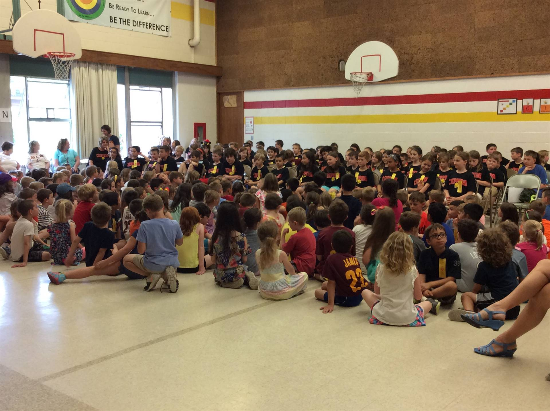 Younger students look to leadership of Third Graders