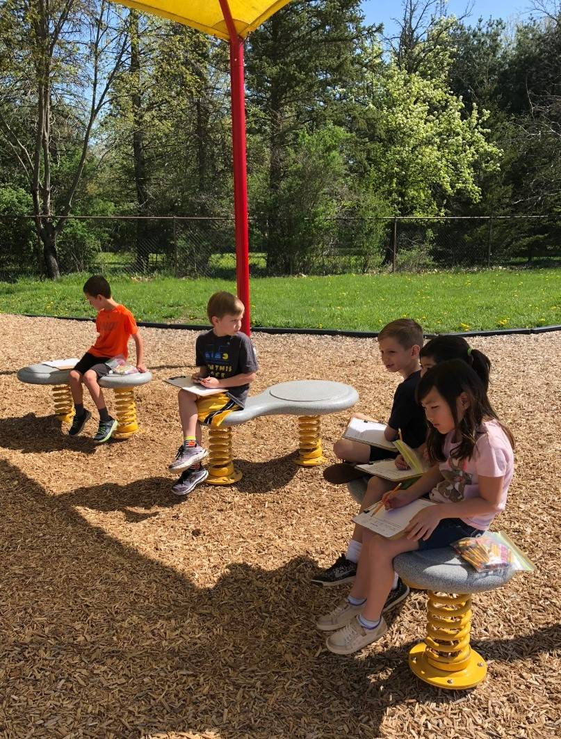 1st grade science on the playground 2