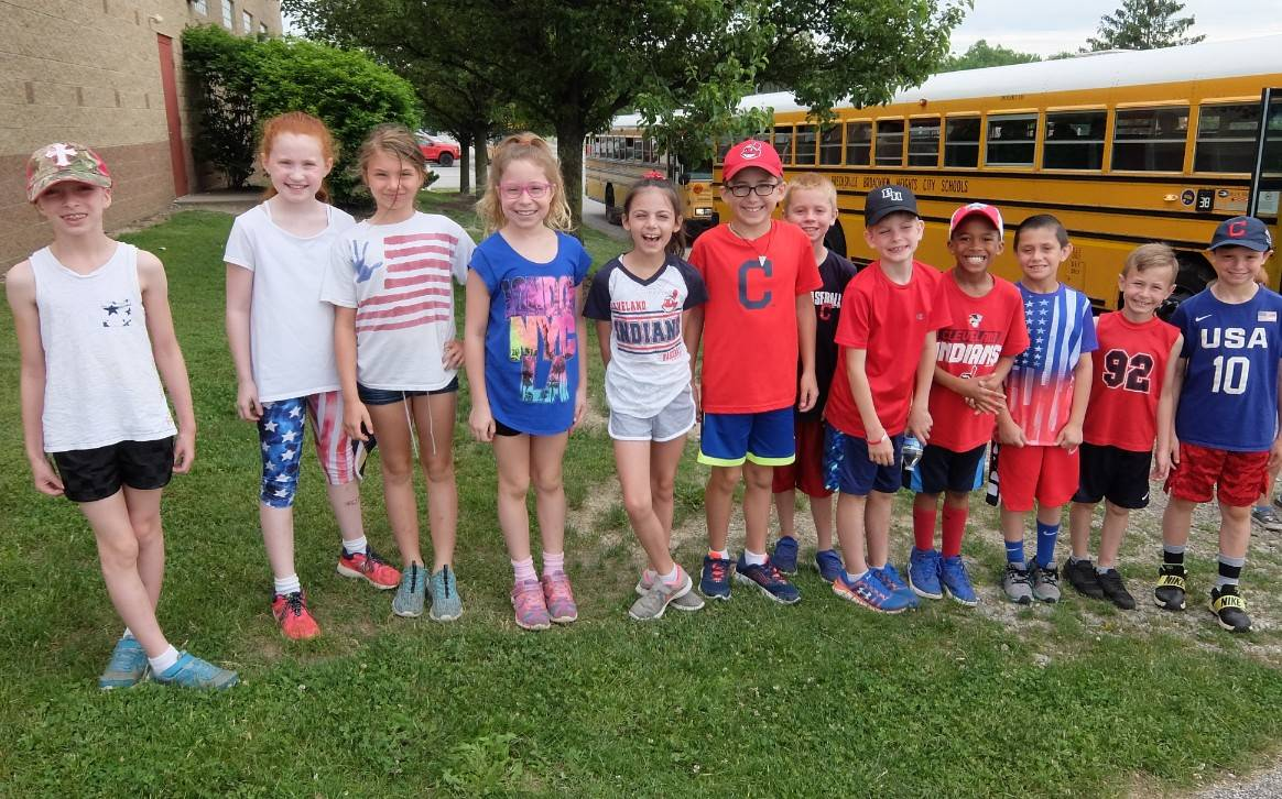 Field Day 18- 3rd Graders