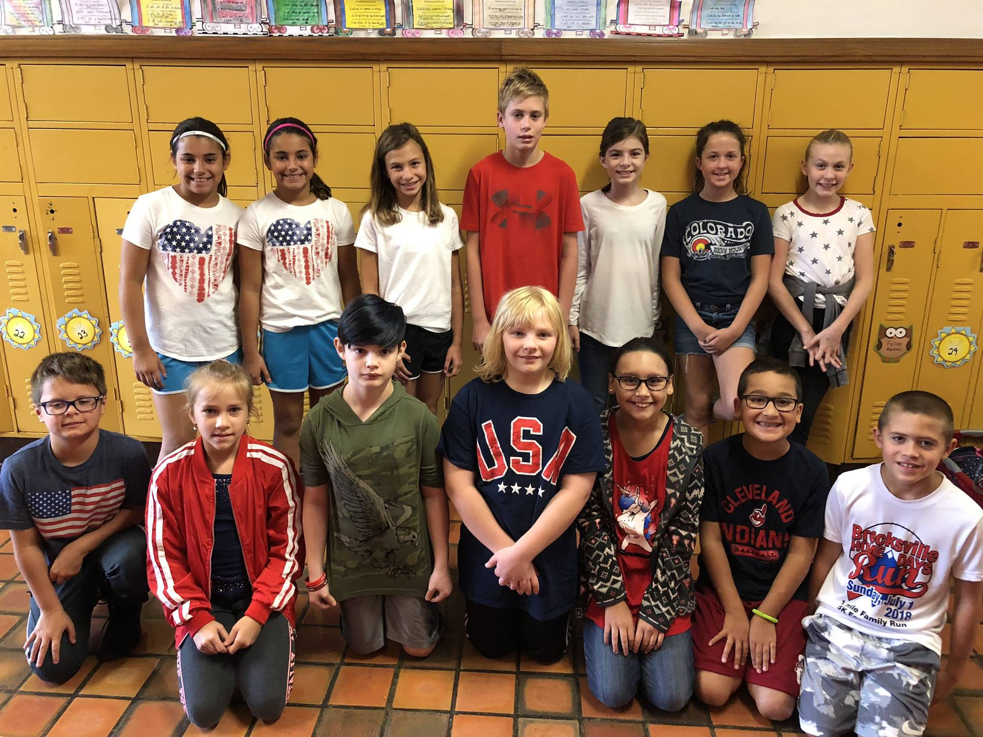 Mrs. Reeves Class on September 11th