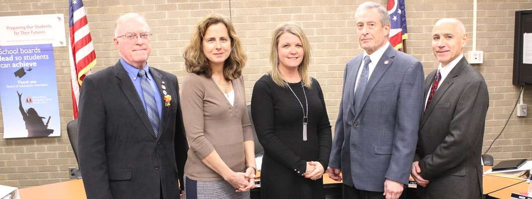 2018 BBHCSD Board of Education Members