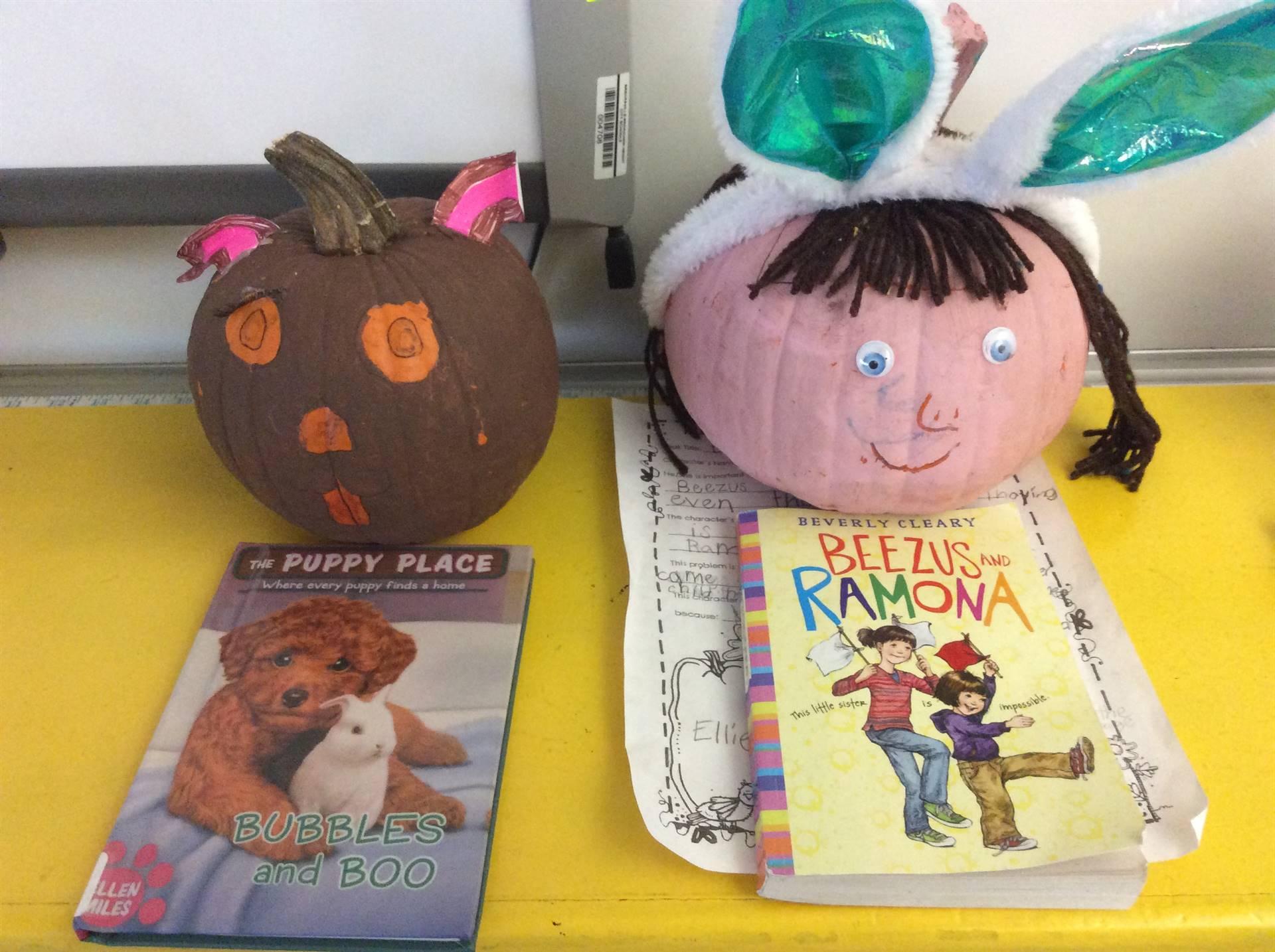 2nd Grade Pumpkin Book Reports