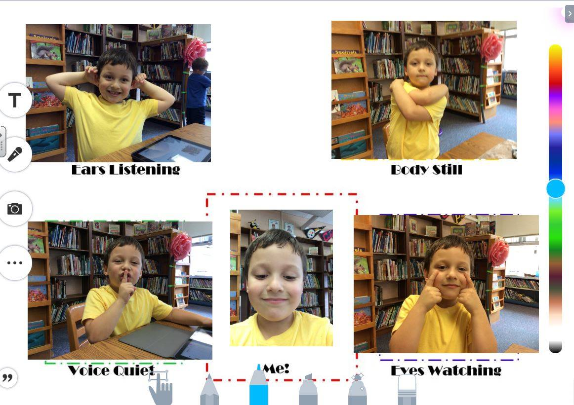First graders show how to learn your best!