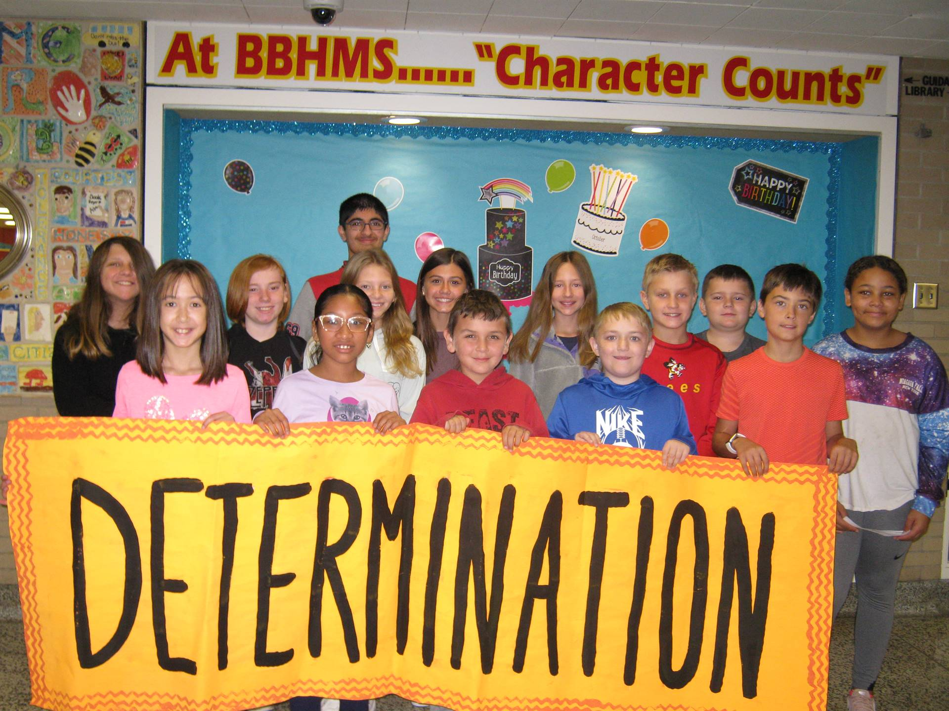 Determination middle school banner 5