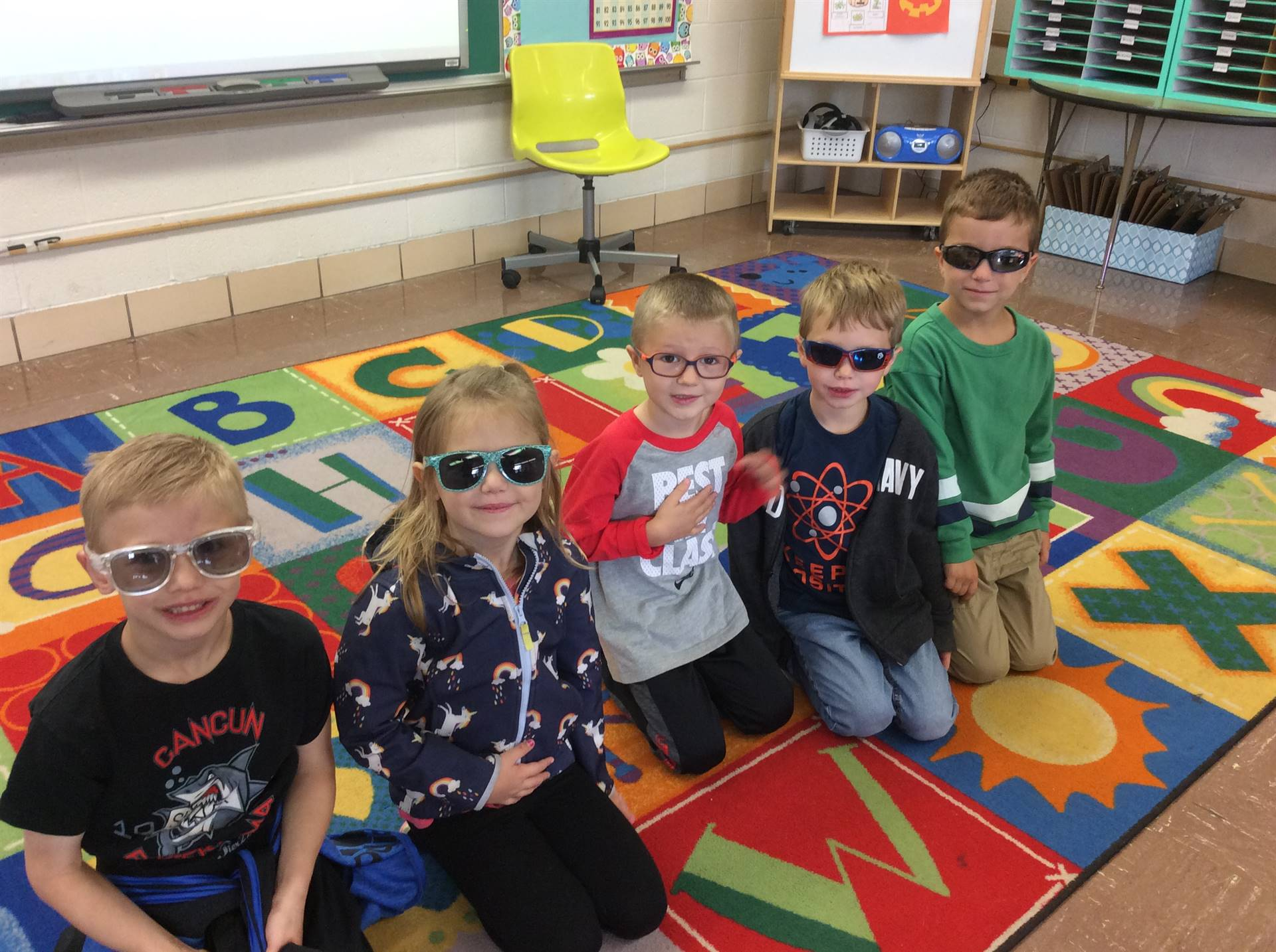 Sunglasses Day at Chippewa!