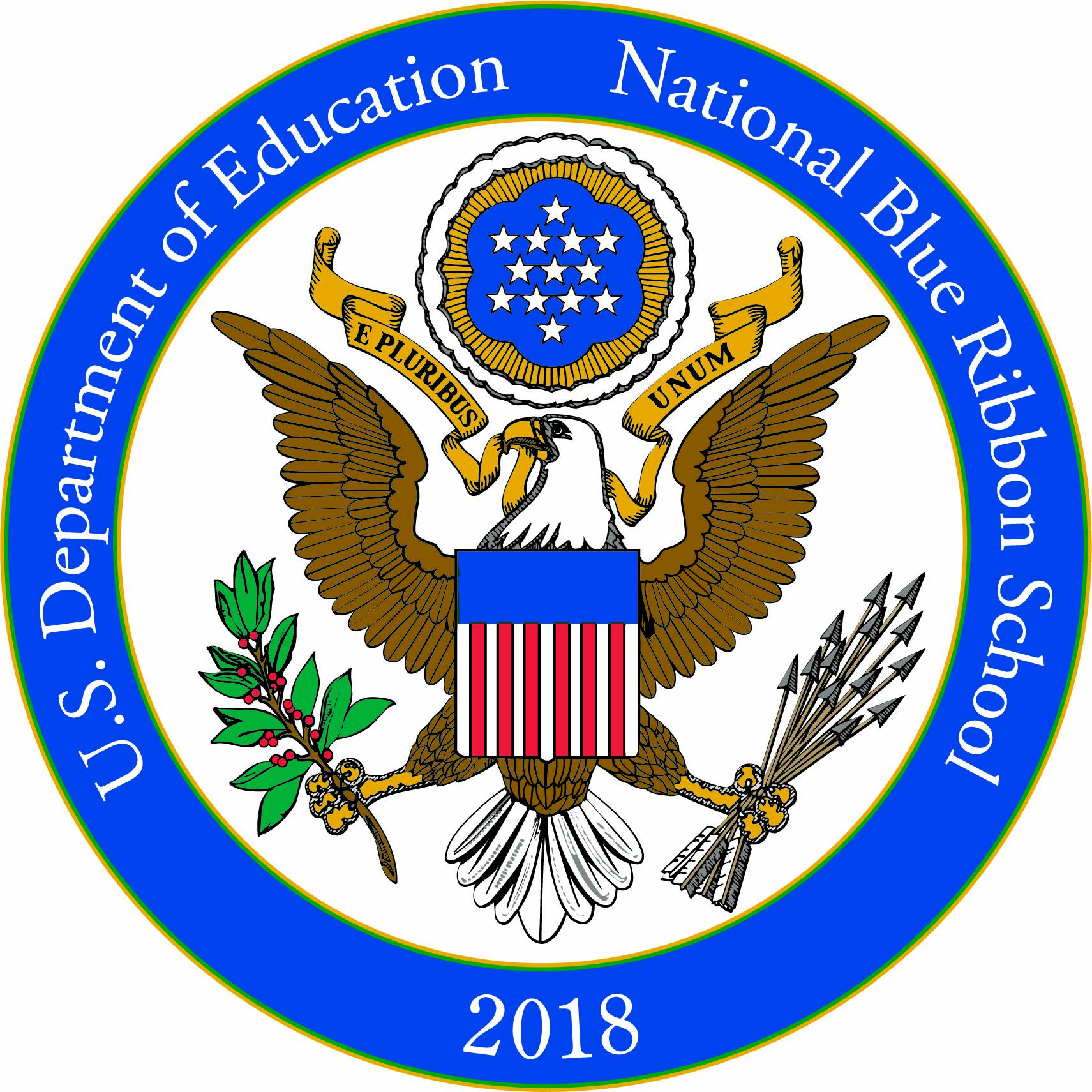 U.S. Department of Education National Blue Ribbon School