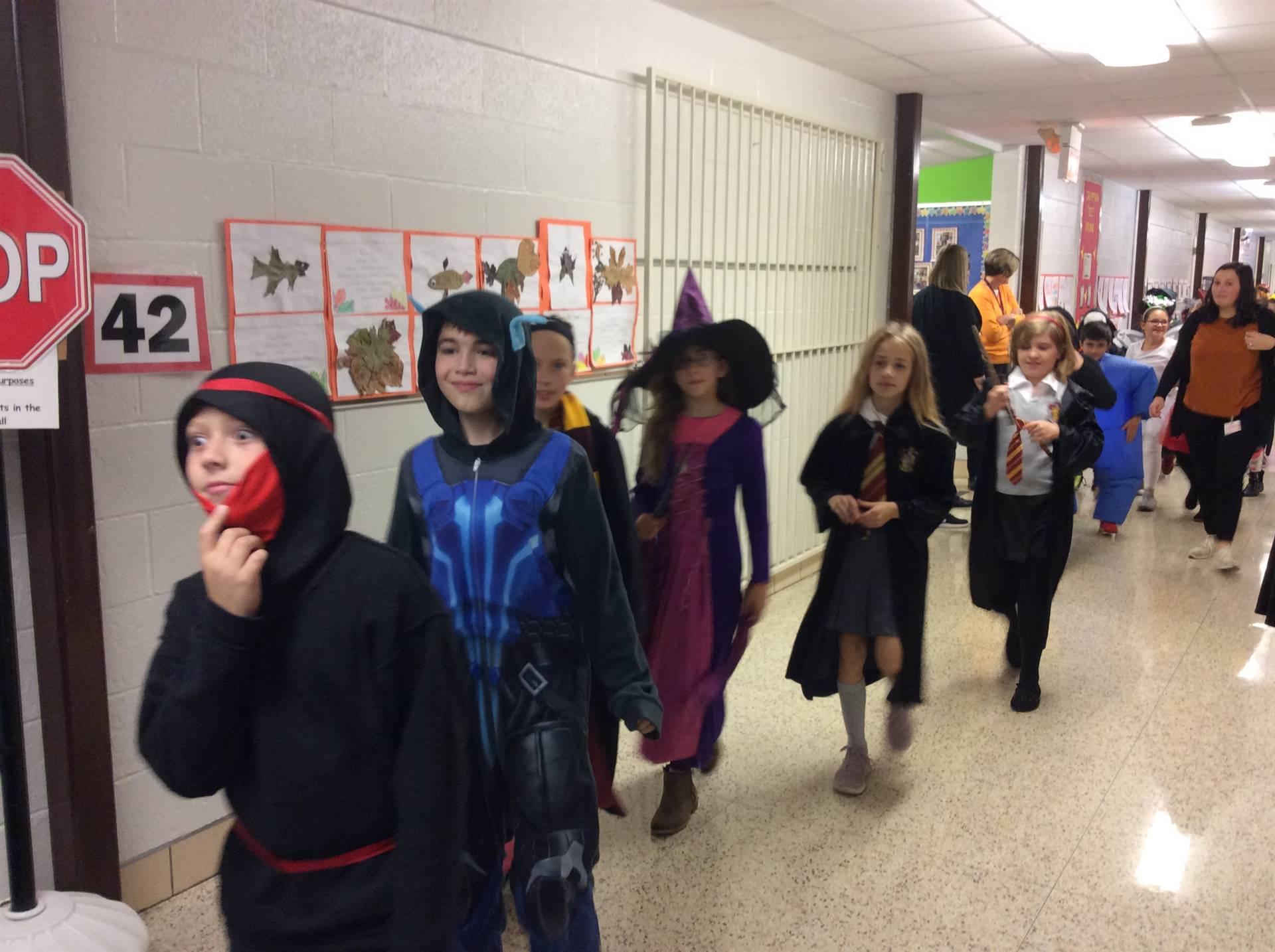 Halloween Parade!