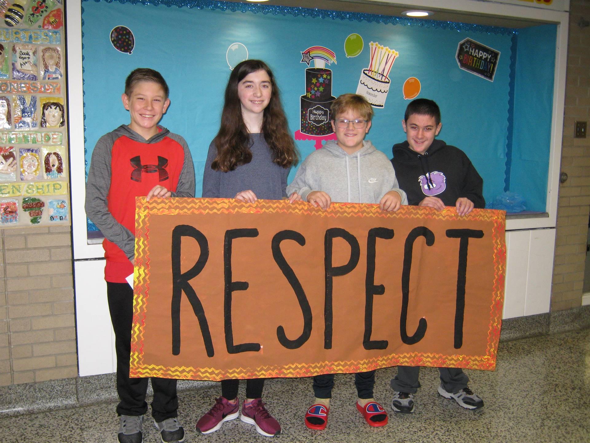 Respect week 4